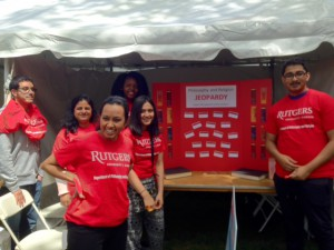 Rutgers Day 2016 students 1