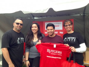 Rutgers Day students 4